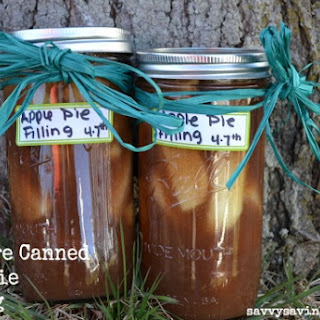 How to Make Pressure Canned Apple Pie Filling.