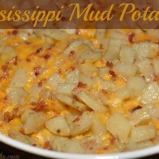 Mississippi Mud Potatoes.