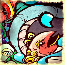 Photo: A detail from the downtown utility box art. So lively and interesting. Thanks City of Eugene.