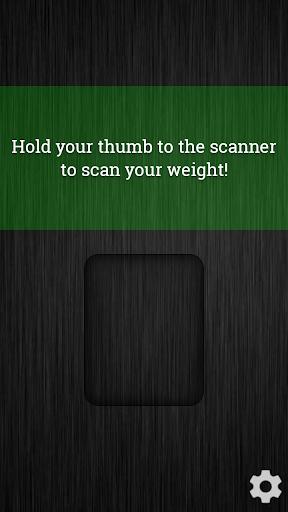 重量掃描儀