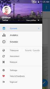 Buffer: Social Media, Twitter- screenshot thumbnail