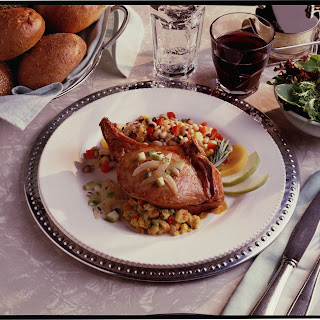 Southern-Style Baked Stuffed Pork Chops.