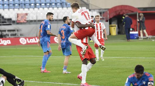 El Almería se dispara y espera superar la mejor racha con Turki