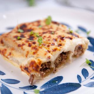 Chicken, Mushroom and Leek Cannelloni with Cauliflower BéChamel Recipe