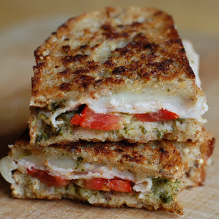 Turkey Pesto Grilled Cheese