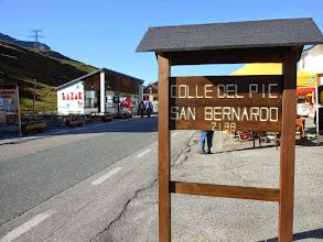 Photo: Arrivo mattutino in macchina al Colle del Piccolo S.Bernardo.