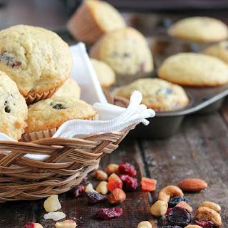 Tropical Trail Mix Muffins.