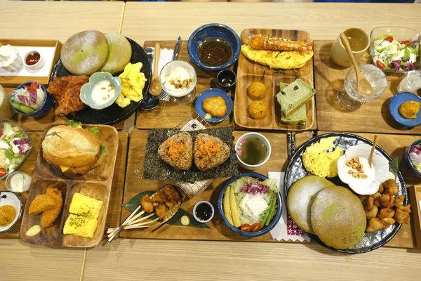 樂禾田(海安店)‧這不是早午餐,根本是小型日式Buffet~平價大份量就是台南的好客之道呀!!!!
