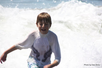 Photo: (Year 3) Day 22 -  Matthew and a Big Wave #2