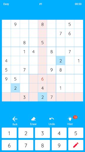 Sudoku - Free Game 1.0 screenshots 2