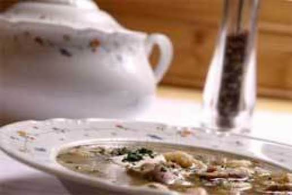 Fresh Mushroom Soup Recipe