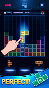 Download Glow Block Puzzle: Free Color Jewel Games 2019 For PC Windows and Mac apk screenshot 2