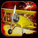 Biplane Fighter: WW1 guerra icon