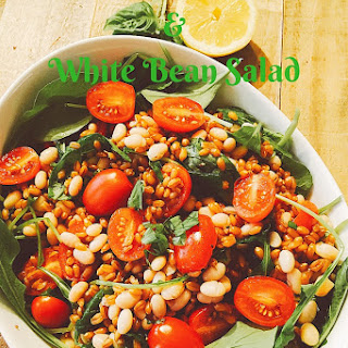 Wheat Berry, Arugula & White Bean Salad