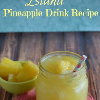 Island Pineapple Drink.