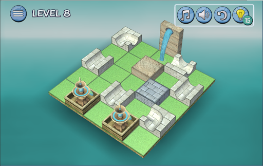 Flow Water Fountain 3D Puzzle Screenshots 10