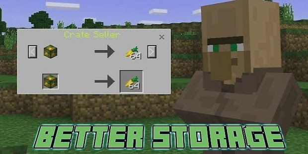 Better Storage Add-on for MCPE - náhled