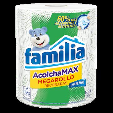 Toallas Familia Acolchamax Megarollo decoradas x120Und