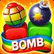 おもちゃの爆弾: ブラスト&マッチグッズキューブパズルゲーム