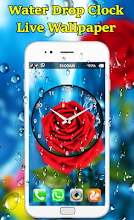 Water Drop Clock Wallpaper 10 Latest Apk Download For Android