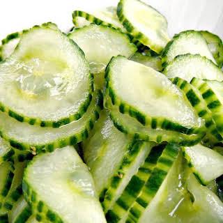 Best Cucumber Salad.