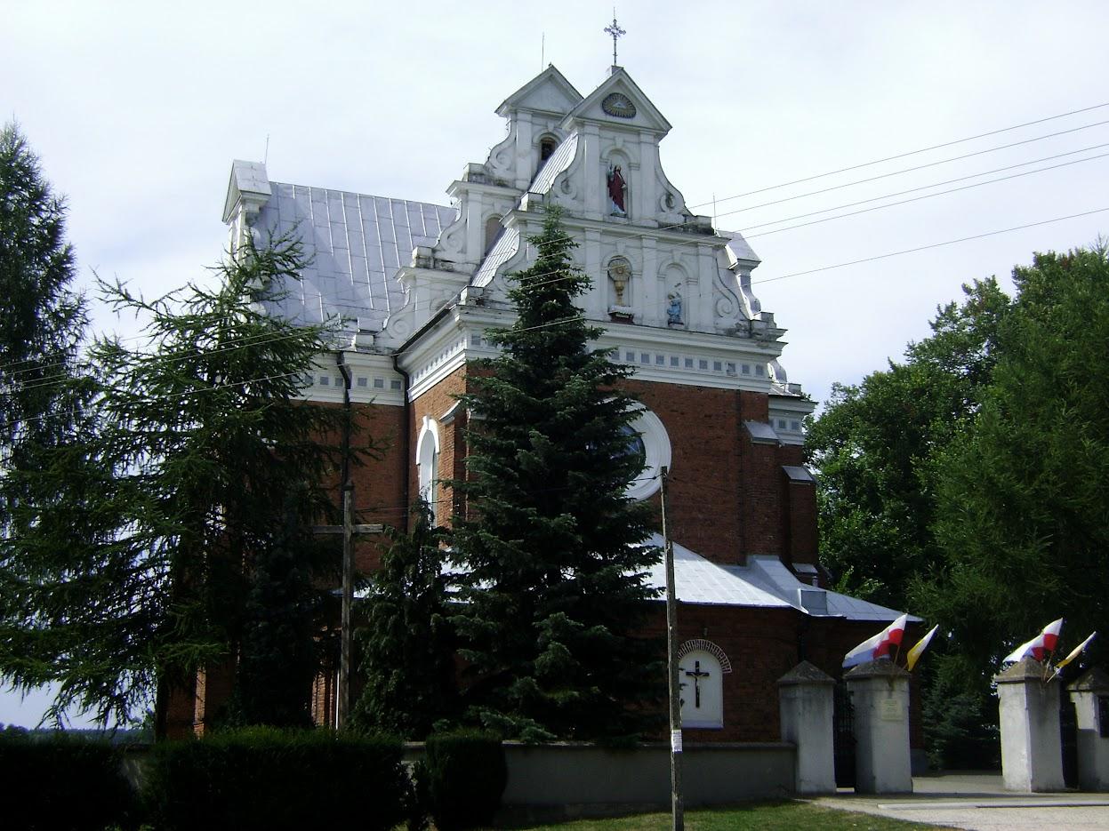 kościół w Bełdowie