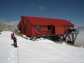 Photo: Back at Plateau Hut for a rest and some dinner.