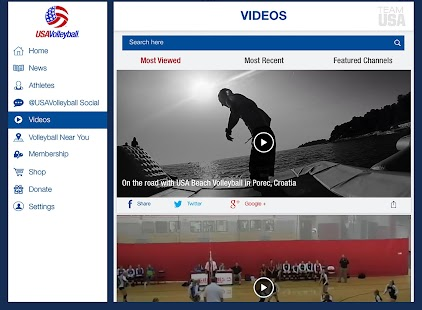 USA Volleyball- screenshot thumbnail