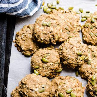 Healthy Pumpkin Oatmeal Cookies.