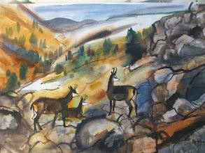 Photo: Ludvík Kunc - akvarel č. 10