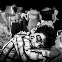 Sleeping in a dancingfloor di