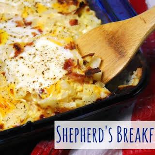 Shepherd's Breakfast Pie.