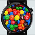 M and Ms Watch Face icon