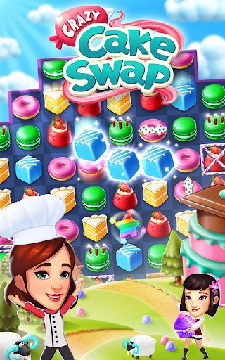 Crazy Cake Swap: Matching Game 1.69 androidappsheaven.com 15