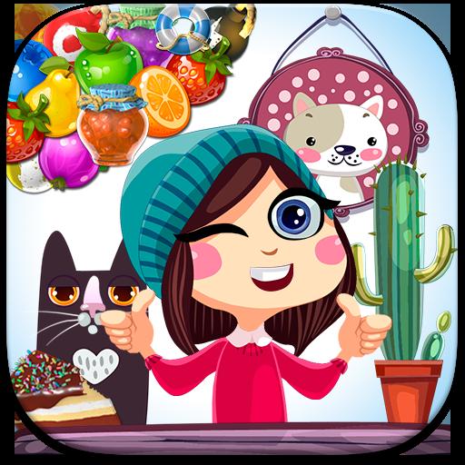 Match 3 Saga - Fruits Crush Adventure