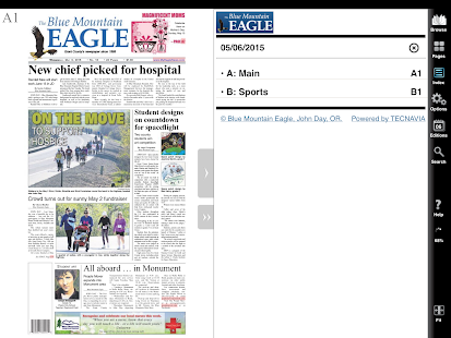 Blue Mountain Eagle e-Edition- screenshot thumbnail