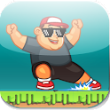Chubby bungee rush:Speed Run icon