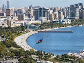 Photo: Baku Bulvár, Bulvár, Kaszpi-tenger, Baku tengerparti sétánya