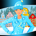 Winter Fashion Dress Up Games icon
