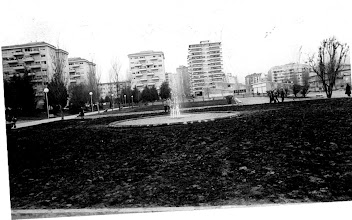 Photo: Parque de Campolongo. A esquerda o Paseo de Valle Inclán (por riba do río Gafos). A fonte aínda está no parque.