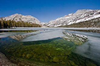 Photo: Iceout at Tenaya Lake