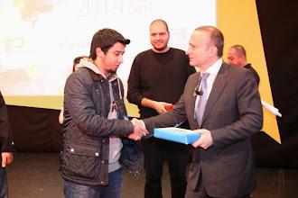 Photo: Gün boyunca en çok twit atanlara birbirinden güzel çeşitli hediyeler verildi... www.gelecekgunu.org