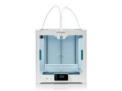 Ultimaker S5 Dual Extrusion Large-Format 3D Printer with Enhanced Service Plan (2 Years of Warranty Protection)