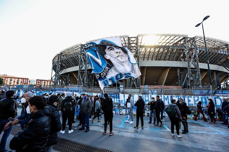 🎥 Naples s'enflamme pour Diego Maradona