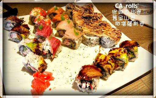 每一道roll都是驚喜,食物談不上一流,不過在顏值與創意加持下,令人心情也開心起來。美式的外表,日式的內在,繽紛的色彩下還帶有內斂的味道。 套餐加點的生菜沙拉,口感非常綿密的馬鈴薯泥,遇上芥末美乃滋,