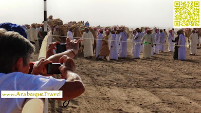 Photo: Oman Camel race wahibah sands