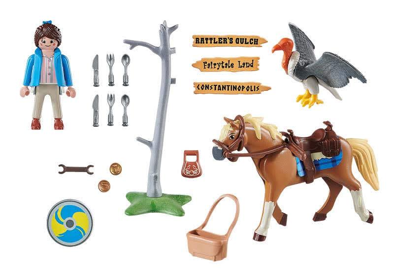 Contenido de Playmobil® 70072 Marla con Caballo