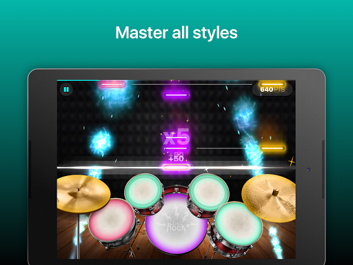 Drums: real drum set music games to play and learn 2.18.01 screenshots 8