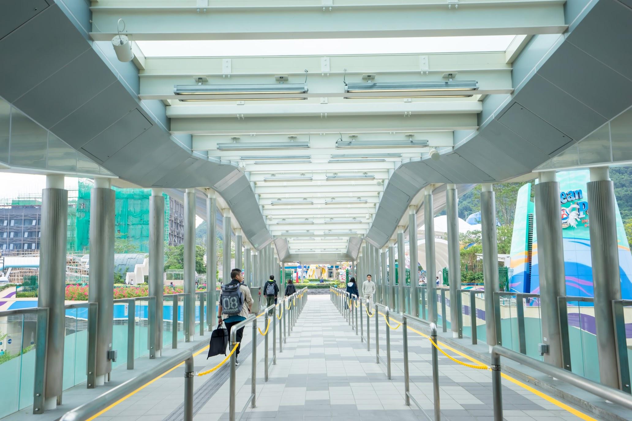 香港 海洋公園駅