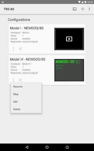 TRS-80 Emulator  captures d'écran 2